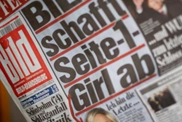 Bild gazetesinden üstsüz kadın devrimi!