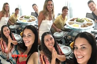 Adriana Lima Metin Hara'yı ailesiyle tanıştırdı!