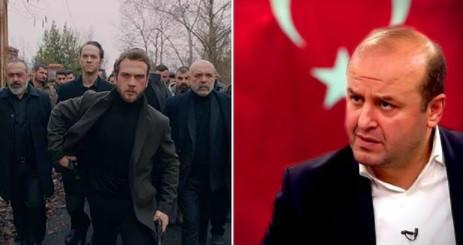 Ünlü gazeteci Çukur dizisine savaş açtı, alay konusu oldu!