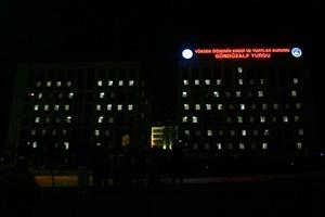 Üniversite öğrencilerinden Mehmetçik'e ışıklı destek