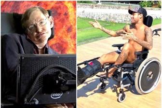 Neymar'ın Stephen Hawking paylaşımı olay yarattı!