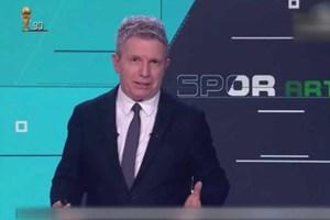 TRT Spor spikerinin gafı ortalığı karıştırdı