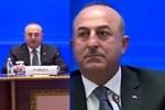 Bakan Çavuşoğlu canlı yayında gazeteciyi fırçaladı: FETÖ'cü gördüm sizi!