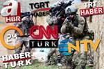 Türk Ordusu Afrin'e girdi, ilk haberi hangi kanal verdi?