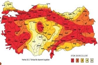 'Türkiye Deprem Tehlike Haritası' güncellendi! Deprem riski ve tehlikesi en yüksek yerler nereleri?