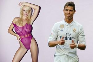 Rhian Sugden Cristiano Ronaldo'yu reddettiğini açıkladı