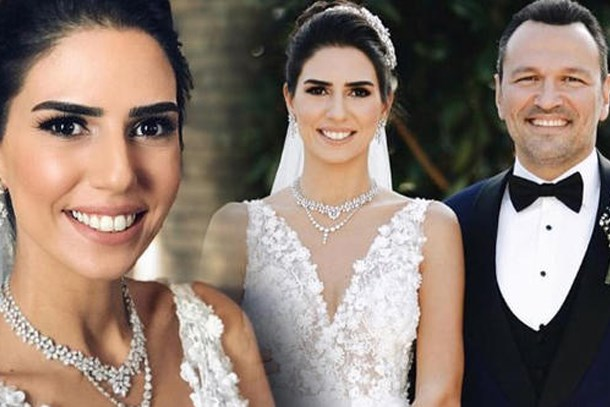Ali Sunal ve Nazlı Kurbanzade dünyaevine girdi!