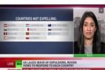 Rus televizyonunda Rumları çıldırtan görüntü!