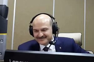 Bakan Soylu'nun radyo yayınında dikkat çeken detay