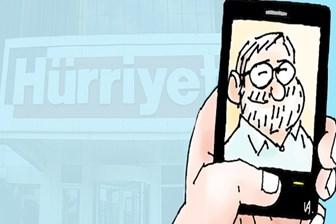 Hürriyet'ten ayrıldığı iddia edilmişti, yeni karikatürü yayınlandı!