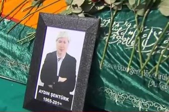 Duayen gazeteci Aydın Şentürk'e son veda! Gözyaşlarıyla uğurlandı!