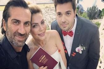 Ünlü oyuncudan jet nikah! 24 saatte hem nişan hem düğün yaptı!