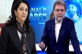 Kanal D ile yolları ayrılan Ahmet Hakan'a Pervin Buldan'dan mesaj