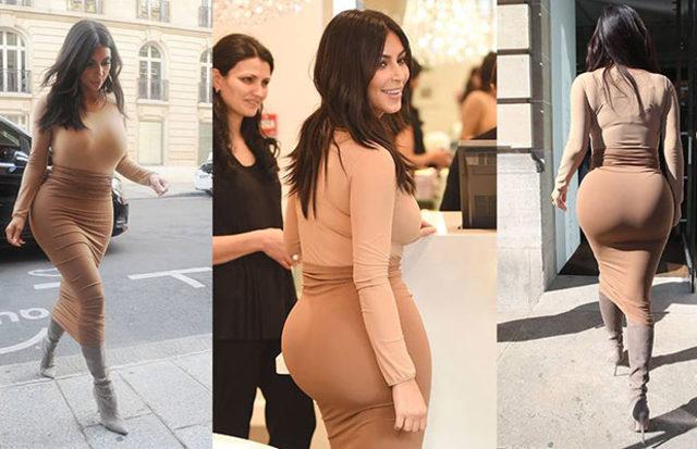 Kim Kardashian'dan bomba kalça itirafı