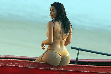 Kim Kardashian'dan bomba kalça itirafı!
