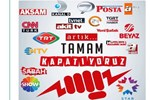 Televizyon kanallarına 'tek seslilik' tepkisi: Kapat Gitsin