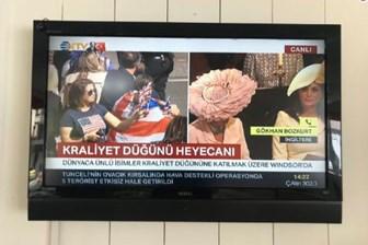 CHP'li vekilden NTV'ye 'kraliyet düğünü' tepkisi: An itibariyle İnce'nin mitingi var, farkında mısınız?