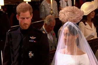 Yılın düğünü gerçekleşti; Prens Harry ve Meghan Markle evlendi