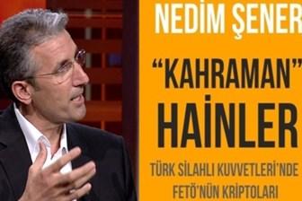 Nedim Şener'den 15 Temmuz kitabı: