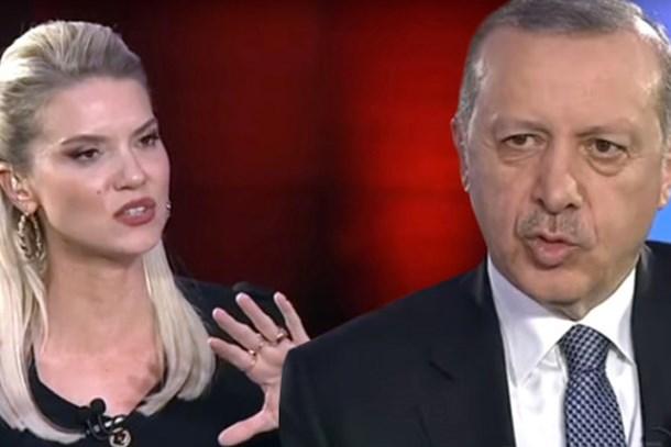 Pelin Çift'in 'Hastane' gafını Erdoğan affetmedi! Sosyal medyanın diline düştü...