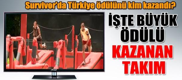 Survivor'da Türkiye ödülünü kim kazandı? İşte büyük ödülü kazanan takım