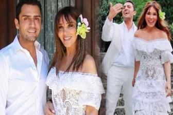 Seren Serengil ile Yaşar İpek sürpriz yaptı! Fransa'da evlendiler...