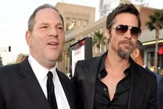 Brad Pitt tacizci Weinstein'i ölümle tehdit etmiş