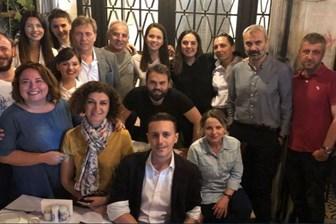 CNN Türk çalışanlarından veda yemeği! Geceye kimler katıldı? (Medyaradar/Özel)
