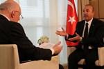 Çavuşoğlu Alman gazeteci ile kavga etti: Bana saygı göstermek zorundasınız, röportaj böyle yapılmaz