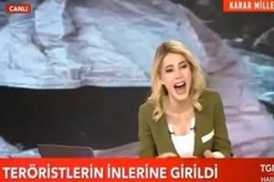 TGRT Haber'de canlı yayın kazası
