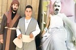 TRT dizisinin setinde yanan oyuncunun fotoğrafı paylaşıldı