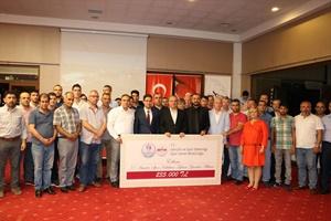 Edirne'de amatör spor kulüplerine destek