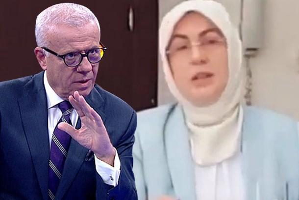 Ertuğrul Özkök'ten AKP'li adaya çok sert sözler: Kendini ifade edemeyen ezik birisin!