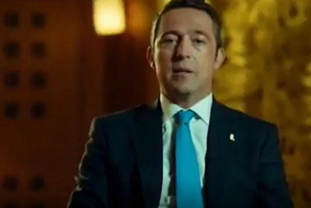 O reklamda oynadı, ortalık karıştı! Ali Koç'dan açıklama!