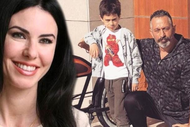 Defne Samyeli, Cem Yılmaz'ın oğlu Kemal ile tanıştı!