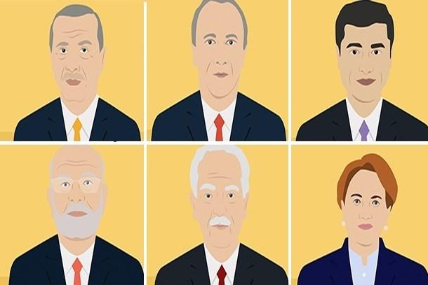 Zirvede hangi isim var? İşte cumhurbaşkanı adaylarının Google performansları!