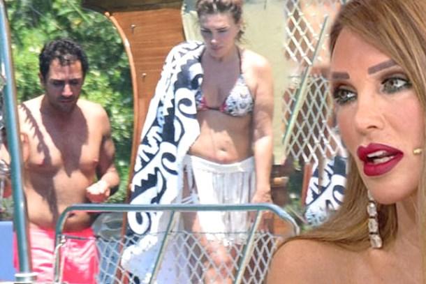 Seren Serengil'den olay paylaşım: Göğüslerini takmayı unutmuşsun kocam!