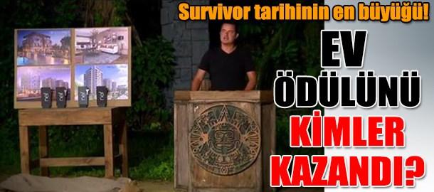 Survivor tarihinin en büyüğü! Ev ödülünü kimler kazandı?