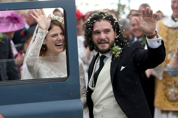 Game of Thrones'un 'Jon Snow'u ve 'Ygritte'i evlendi!