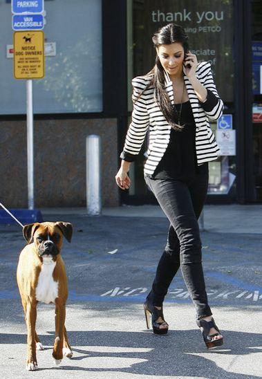 Kim Kardashian şimdi de köpeğine estetik yaptırdı