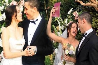 Can Bonomo ve Öykü Karayel evlendi! İşte düğünden ilk kareler...