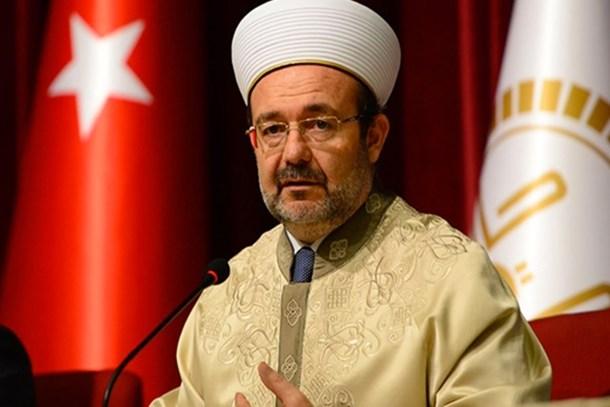 Diyanet İşleri eski Başkanı Görmez'den flaş FETÖ açıklaması: 'Doğrudur! Kendisiyle görüştüm'