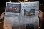 Washington Post'ta tam sayfa FETÖ uyarısı ilanı!