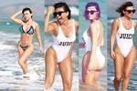 Yerli Kim Kardashian, plajın gözdesi oldu!