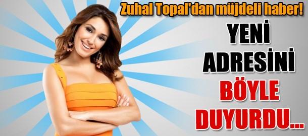 Zuhal Topal'dan müjdeli haber! Yeni adresini böyle duyurdu...