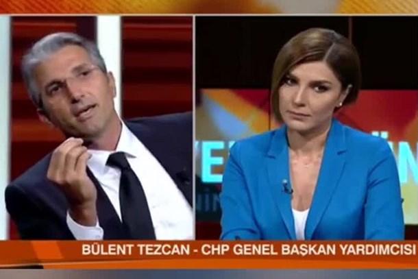 Canlı yayında FETÖ tartışması! Nedim Şener ile CHP sözcüsü birbirine girdi: ABD'ye niye gittin halı satmaya mı?