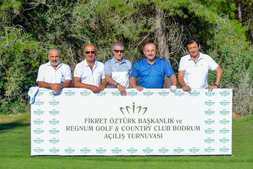 Bodrum'da golf heyecanı!