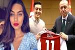 Alman basınından bomba Amine Gülşe iddiası! Mesut Özil'in Erdoğan'la...