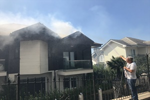 GÜNCELLEME 4 - Bursa'da orman yangını