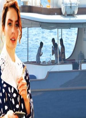 Ünlü ismin teknesinde şoke eden anlar! Evire çevire dövdü!